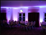 Moodlighting at Gilvenbank Hotel purple